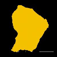 Caisse de Congés BTP des Antilles et de la Guyane - Guyane carte