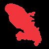 Caisse de Congés BTP des Antilles et de la Guyane - Martinique carte